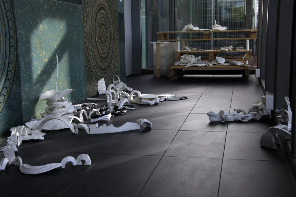 Let it Burn - Installation im Keramion Frechen 2012
