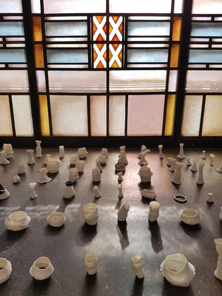 Installation anlässlich der Künstlermesse 2020 im Hygienemuseum Dresden