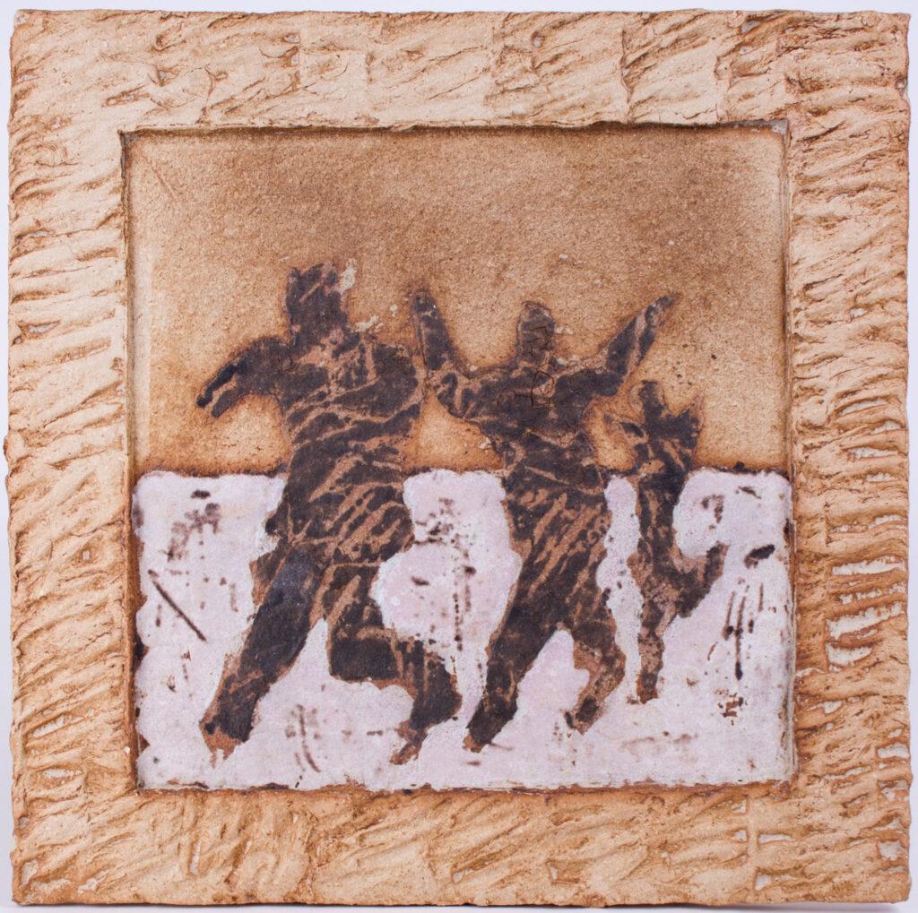 Job Heykamp - Wandobject - 35 x 35 cm