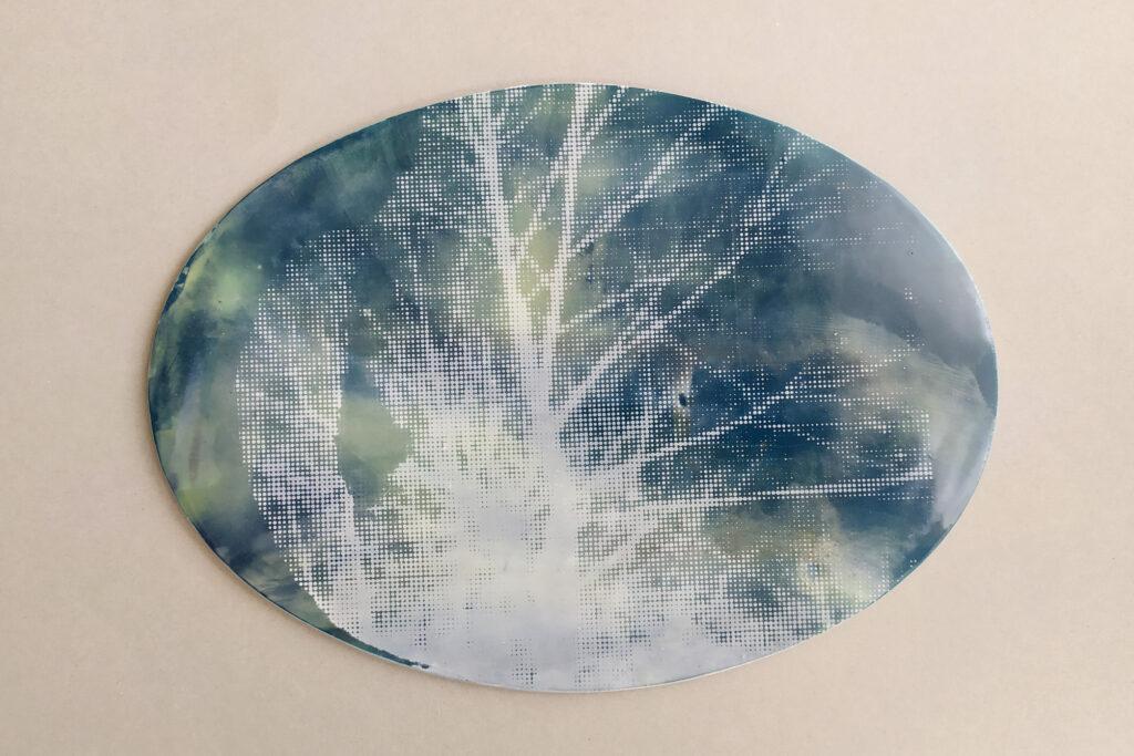 Bildplatte Baum
