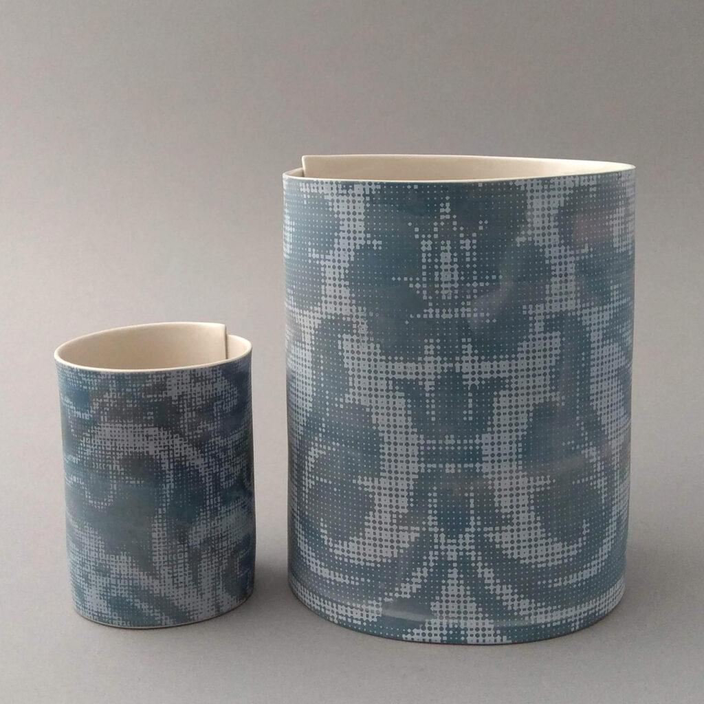 Vase und Becher