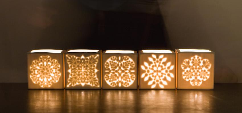 Eckige Sternlichter