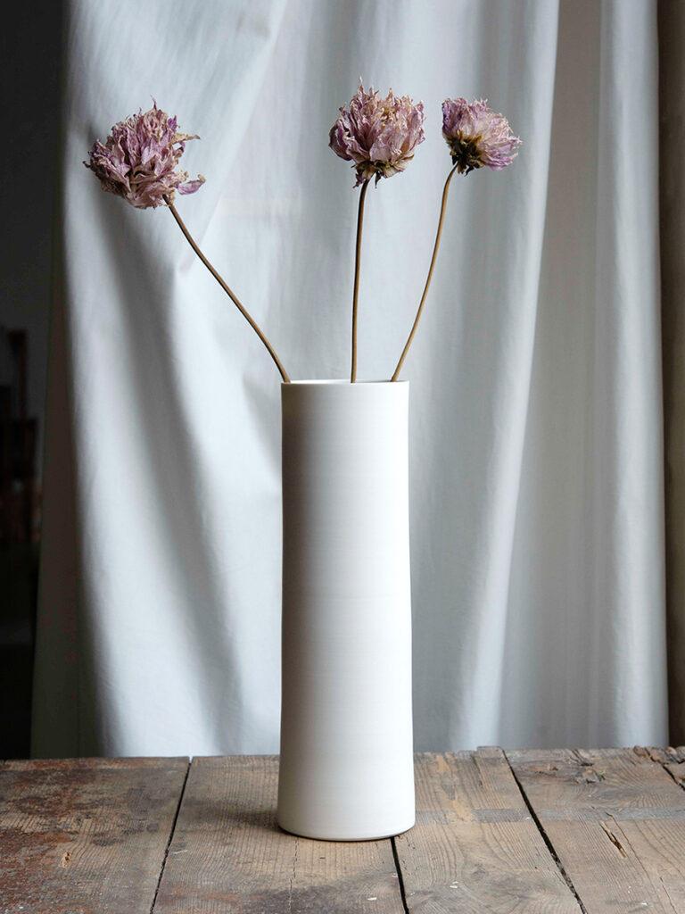 Vase, gedreht+montiert