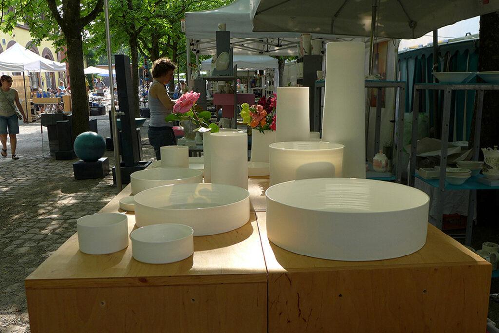 Marktstand Freiburger Keramiktage